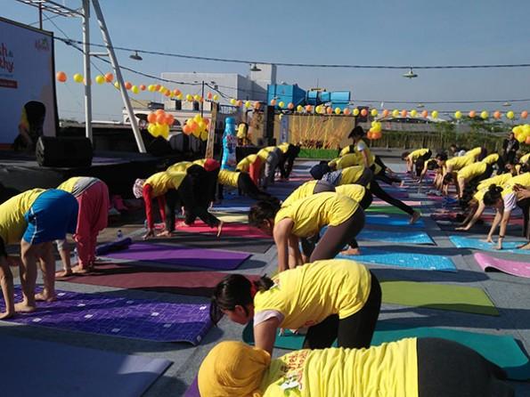 kiranti, yoga, yoga in the air
