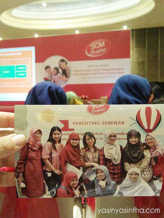 seminar parenting, parenting, seminar SGM, blogger reportase