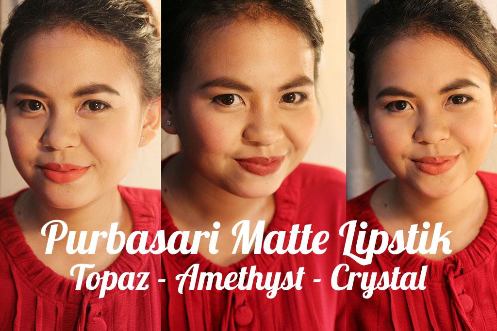 review purbasari matte lipstik