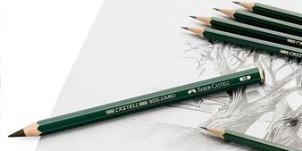 pensil faber-castell 9000