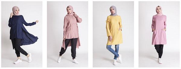 Tren Fashion, Hijab, Baju muslim terbaru, toko online busana muslim, tren fashion muslim 2017