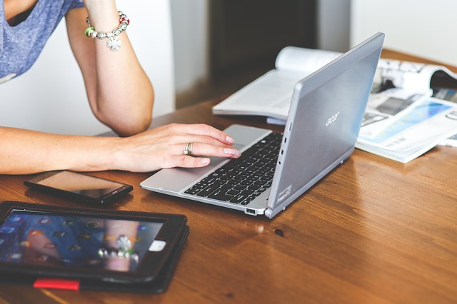 produktif dari rumah, blogger , dumet school