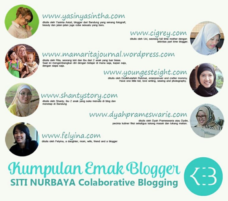 kumpulan emak blogger, kolaboratif blog
