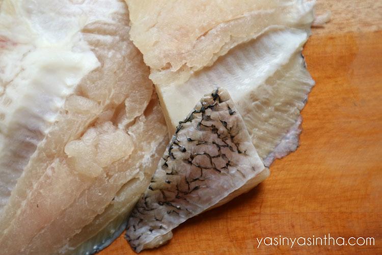 resep ikan gurame, sup ikan gurame, foto makanan, fillet gurame
