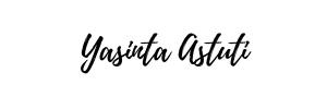 yasinta astuti adalah seorang blogger dan fotografer asal bandung yang memiliki blog yasinyasintha.com