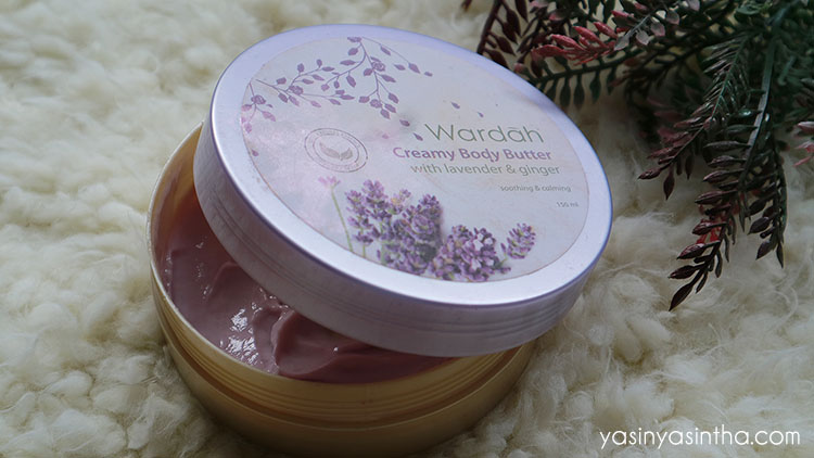 ... Wardah Creamy Body Butter Lavender and Ginger review wardah body butter wardah review