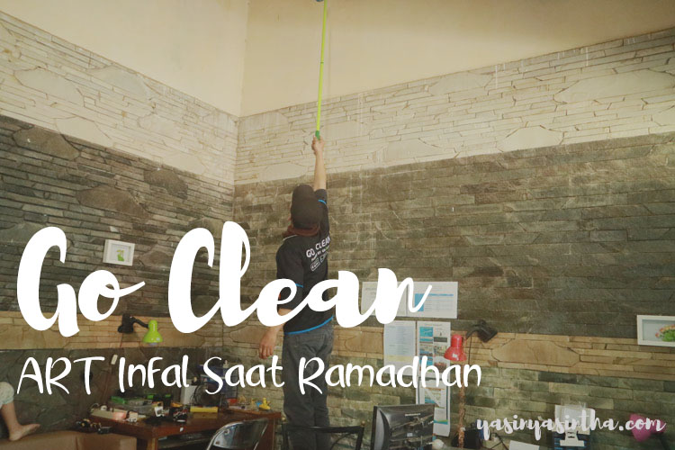 review go clean, blogger bandung