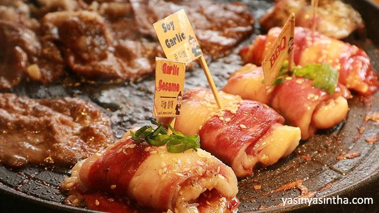 Fat Oppa daging, fat oppa korean food, korean bbq