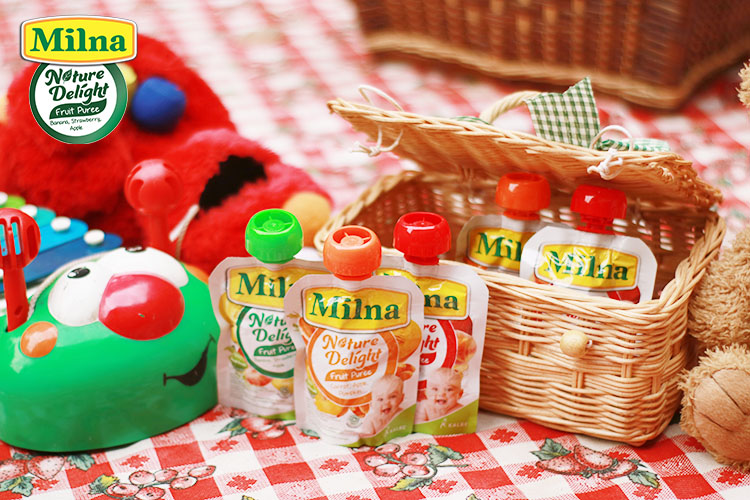 milna pure, review milna puree buah, review milna puree, blogger bdg