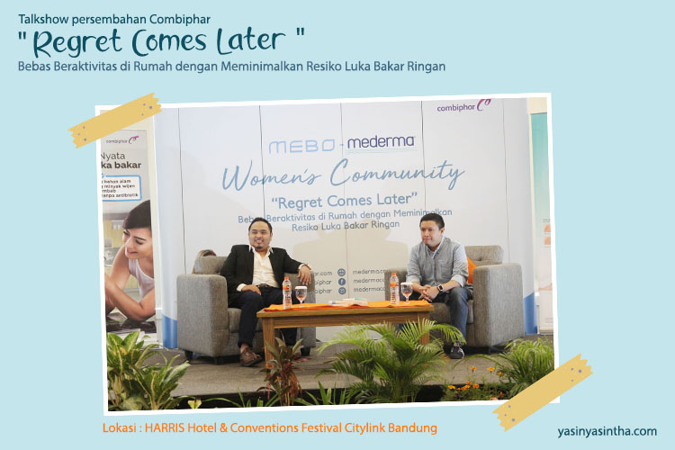 talkshow Mebo dan Mederma