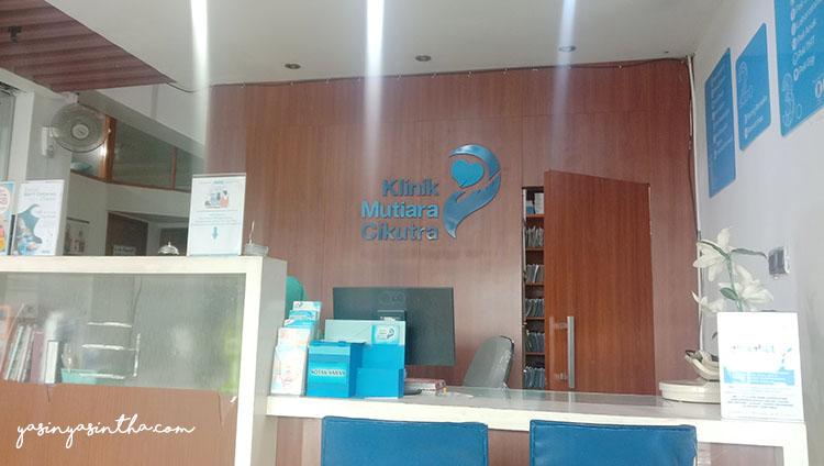 Hari konrol ( Klinik Mutiara Cikutra )