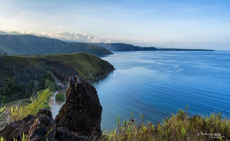 Wisata Gunung Botak (Foto: Elton Richard)