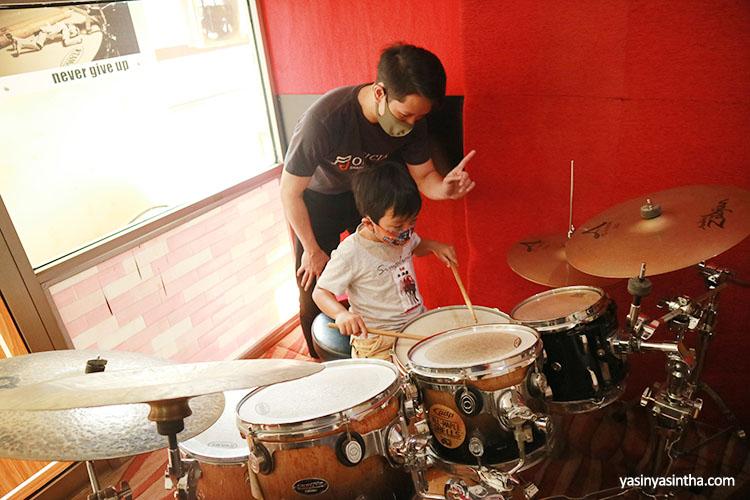 belajar drum untuk anak di bandung