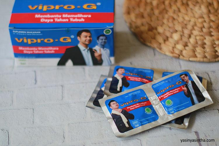 Khasiat Vipro-G untuk menjaga kesehatan dan meningkatkan imun tubuh