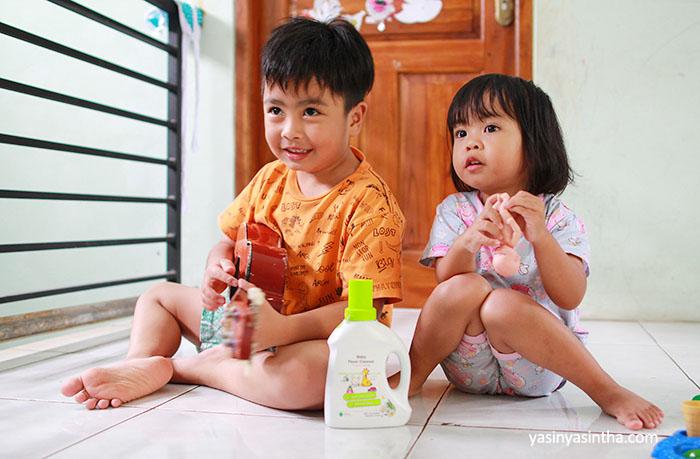 anak-anak yang terbiasa floor time akan memiliki sensorik dan motorik lebih baik karena terlatih atensinya