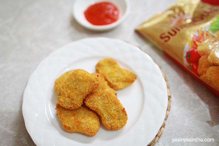 memilih frozen food tak boleh asal, pilih sunny gold yang terbuat dari bahan berkualitas