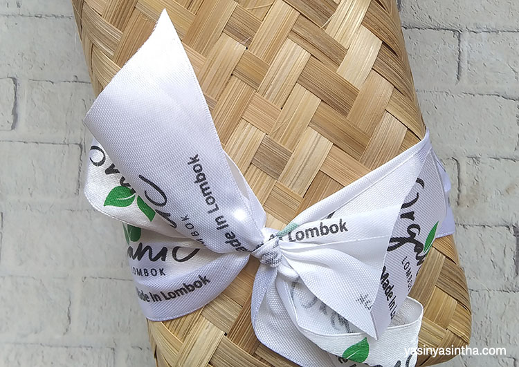 kemasan organic lombok yang merupakan skincare dari lombok berbahan spirulina