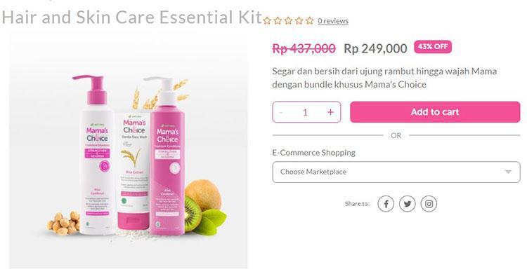 shampo khusus ibu menyusui dan ibu hamil untuk mengurangi kerontokan