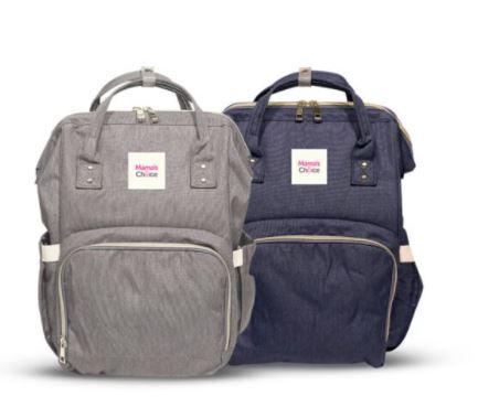 tas bayi adalah barang yang dibutuhkan ibu, berbeda dengan tas biasanya tas bayi Mama's Choice ini memiliki USB port juga