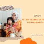 blogger yasinta dari bandung mereview produk OMO sebagai sabun pembersih peralatan makan bayi