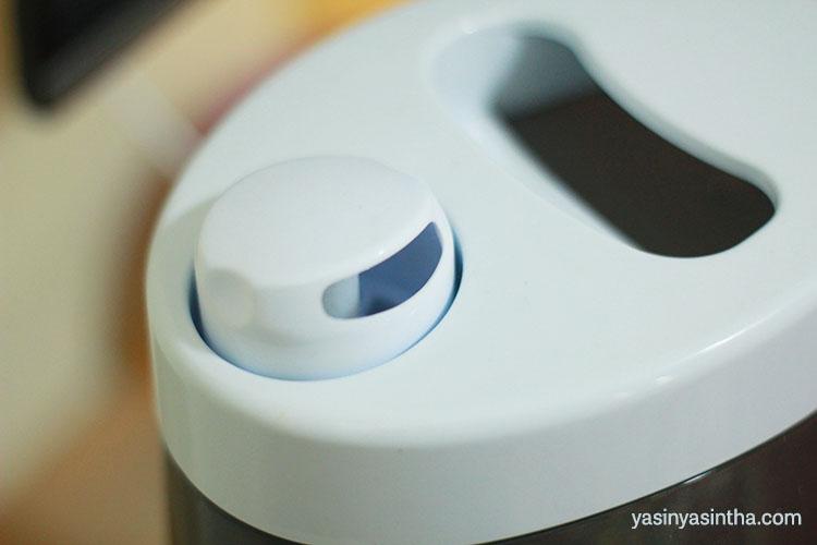 uap yang keluar dari humidifier dapat melembapkan udara dan membunuh virus