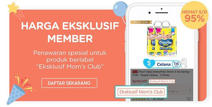 keuntungan menjadi member shopee moms club