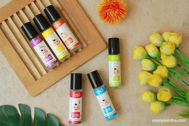 chio essential oil adalah essential oil yang aman untuk bayi baru lahir dan anak-anak