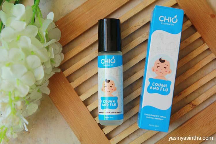 essential oil untuk batuk pilek anak dan bayi dari chio essential oil