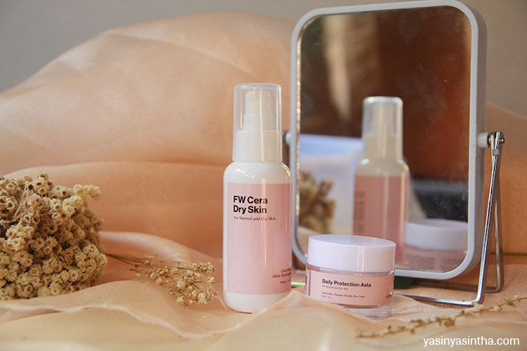 skincare untuk kulit kering harus mampu memberikan kelembapan kulit