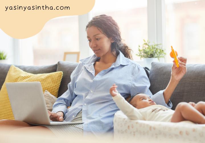 usaha yang bisa dilakukan oleh ibu rumah tangga sambil menjaga anak