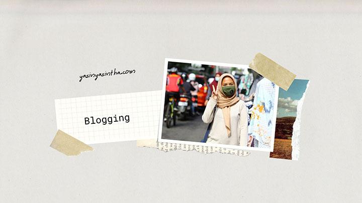 yasinta astuti seorang blogger