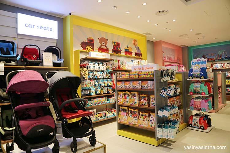 toko mainan bayi dan anak di bandung ada di paskal 23 bernama babyshop