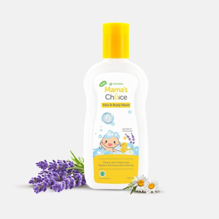 mama's Choice meluncurkan produk berupa hair and baby wash yang diformulasikan aman untuk bayi berkulit sensitif