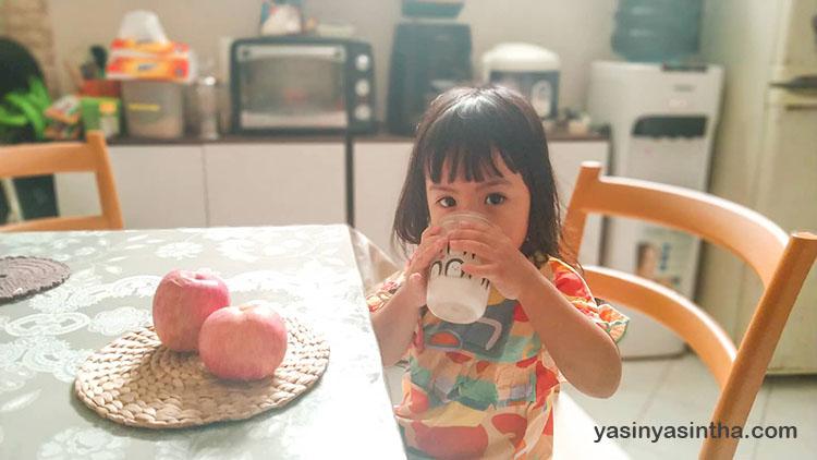 kampanye jam makan serat dengan konsumsi susu tinggi serat