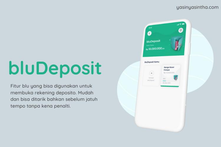 #blubuatbaik membuka rekening deposito bisa dilakukan lewat aplikasi blu by BCA Digital dengan mudah