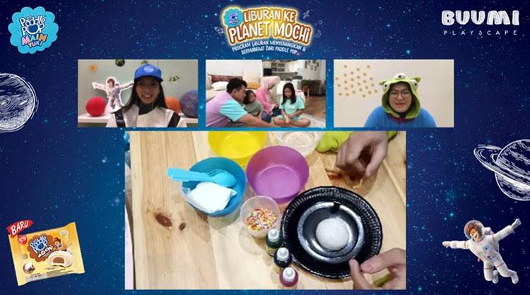 menghias es krim mochi paddle pop bisa meningkatkan kreativitas anak