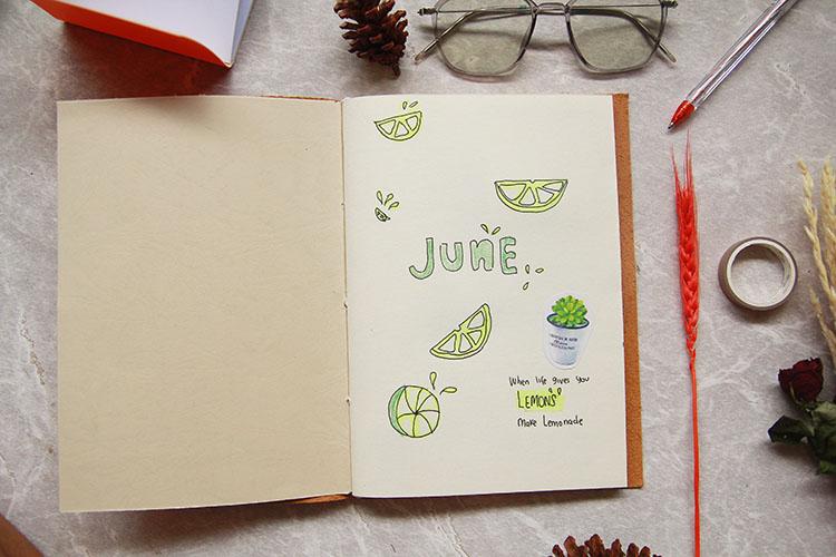 buku catatan custom untuk journal dengan cover kulit